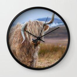 Moo? Wall Clock