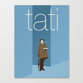 Jacques Tati Canvas Print