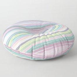 Pastel Rainbow Floor Pillow