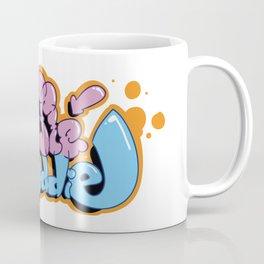 FluffieBuddie logo. Designed by Tresh Toons Coffee Mug
