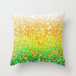 Color Dots Background G73 Throw Pillow
