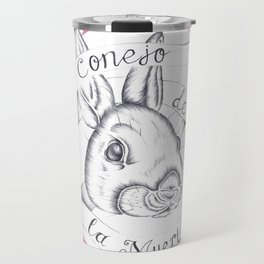 Rabbit of Death Travel Mug