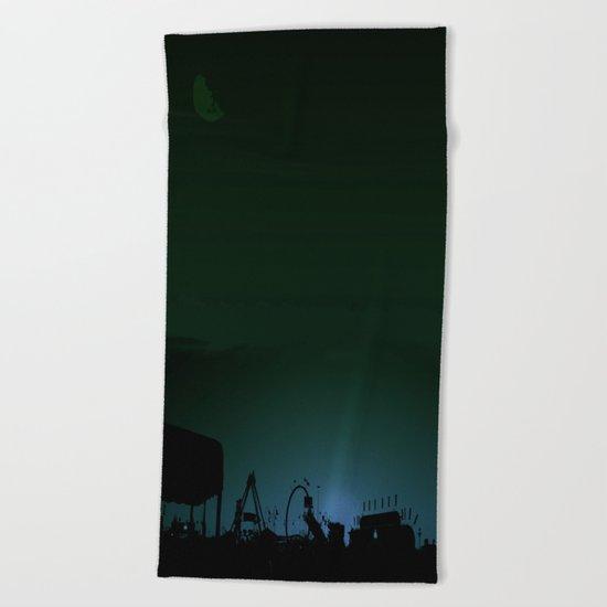 Bleeding Night Fair Beach Towel