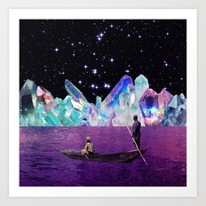 Krystallos Art Print