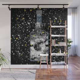 Spaced Rum Wall Mural