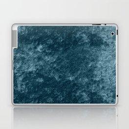 Peacock teal velvet Laptop & iPad Skin