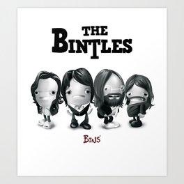 The Bintles Art Print