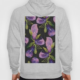 Embroidered callas Hoody