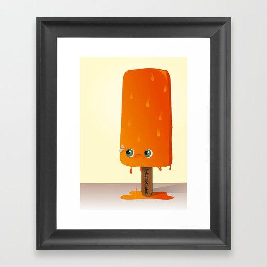 Lol Lolly Framed Art Print