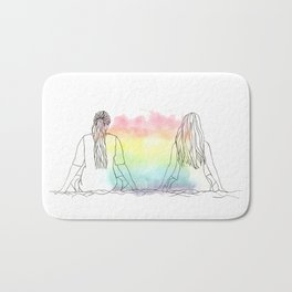 Summer Love Bath Mat