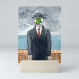 Son of man - Rene Magritte, 1964 Mini Art Print
