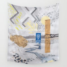 Shed light on the water crises Wall Tapestry