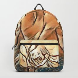 Unicorn Ride Beach Fantasy Backpack