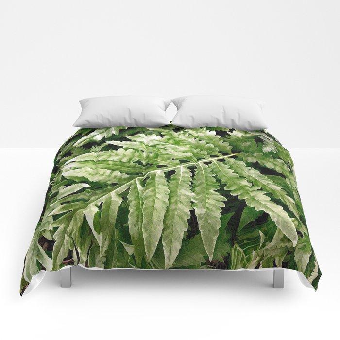 Lush Ferns Comforters