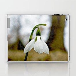 Moody Snowdrop Laptop & iPad Skin