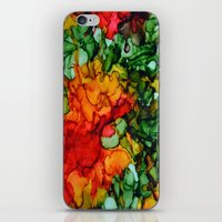 marley iPhone & iPod Skins featuring Marley by Claire Day