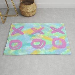 Everybody Is Somebody's Special love xoxo pop art typography Rug
