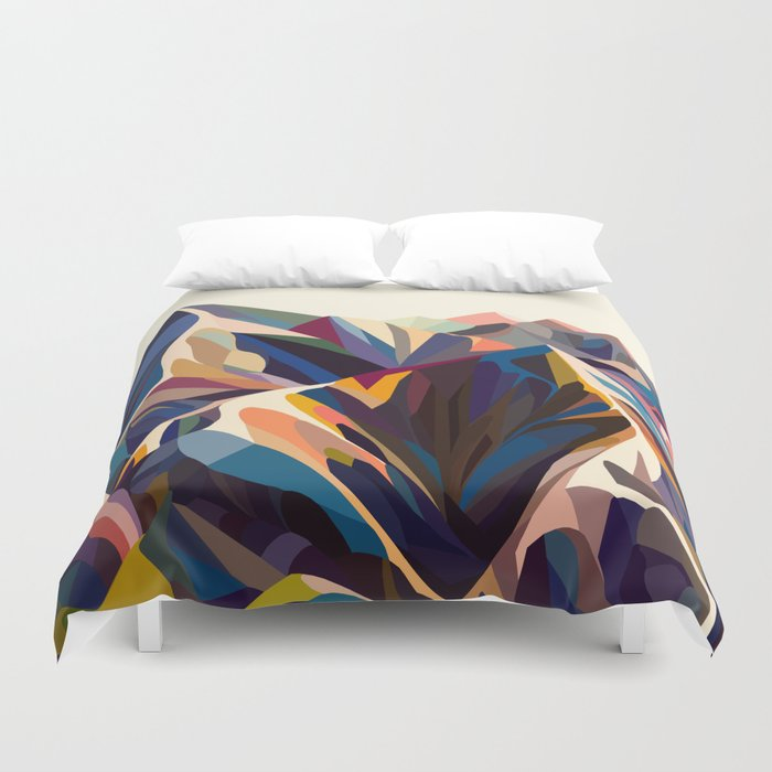 Mountains original Duvet Cover