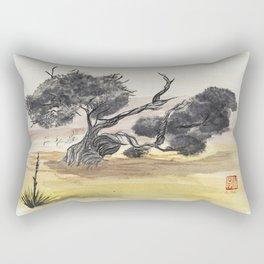 Coyote Ridge Tree Rectangular Pillow