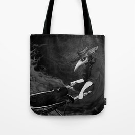Plague Doctor Collects Tote Bag
