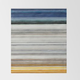 Colorbands Yellowstone Throw Blanket