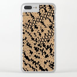 itsexactlywhatuthink Clear iPhone Case
