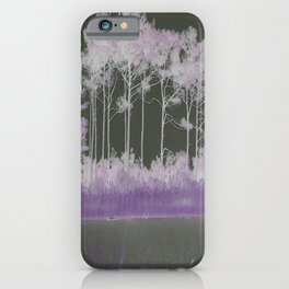 Tranquility in Shades of Lavender iPhone Case