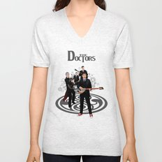 The Doctor who Renunion BAND iPhone 4 4s 5 5c 6 7, pillow case, mugs and tshirt Unisex V-Neck
