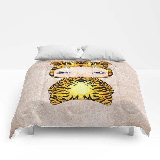 A Boy - Tiger Comforters