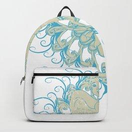 Angel Zen Mandala Backpack