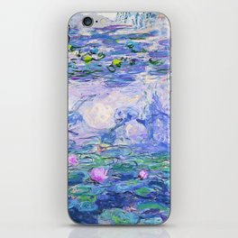 Claude Monet Water Lilies French Impressionist Art iPhone Skin