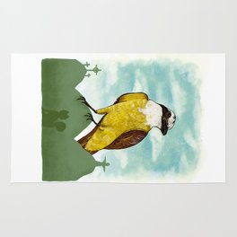 Bichofue cali // great kiskadee colombia Rug