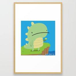 Maybe Tomorrow Framed Art Print