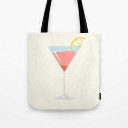Martini Alcohol Drink Illustration Tote Bag