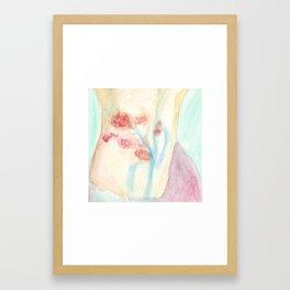 Butterfly: Wrist Framed Art Print