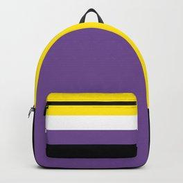 Gender Non-Binary Flag Backpack