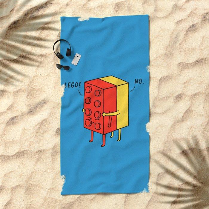 Le go! No Beach Towel