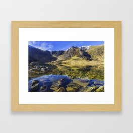 Lake at Dawn Framed Art Print