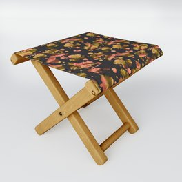 Gold and pink Folding Stool