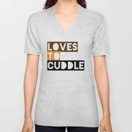 cuddler Unisex V-Neck