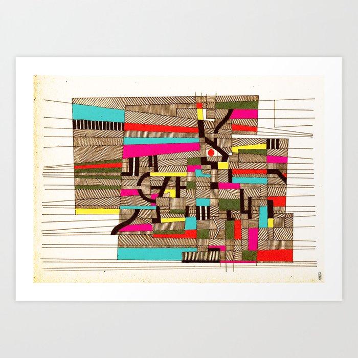 - architecture#02 - Art Print