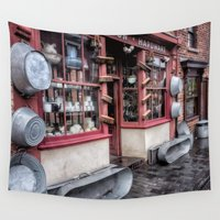 victorian Wall Tapestries featuring Victorian Stores by Adrian Evans