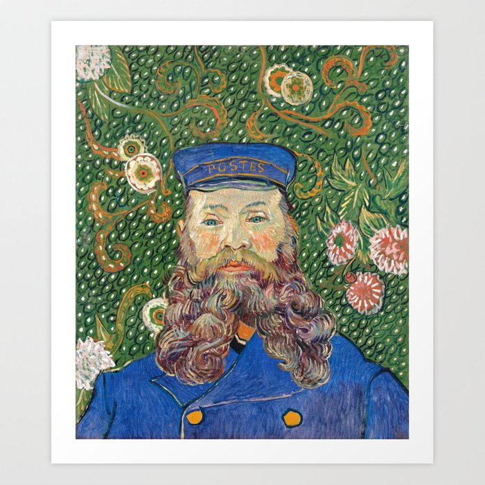 Portrait of the Postman by Vincent van Gogh Kunstdrucke