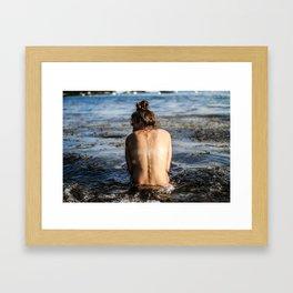 Maine Beaches Framed Art Print