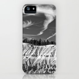Cloudscape over Bryce Canyon iPhone Case