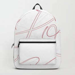 Love (ON THE BRAIN) Backpack