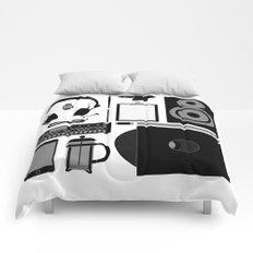 Studio Objects Vector Illustration Comforters