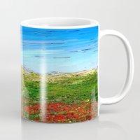 study Mugs featuring Horizon Study by Paul Kimble
