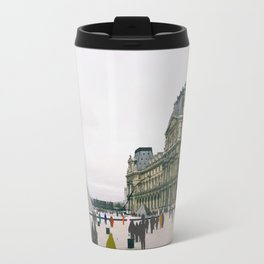 Sometimes People Annoy me Feat. The Louvre, Paris Travel Mug