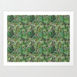 Going green in New York City Art Print